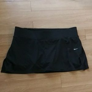 Nike dri-fit tennis skirt sz large